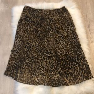 Leopard skirt agb